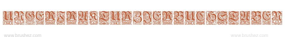 UngerFrakturZierbuchstaben