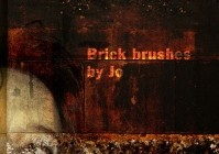 Grunge Brick Phtotshop Brushes