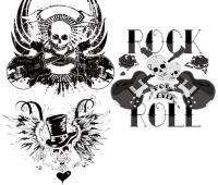Rocker Skulls pack