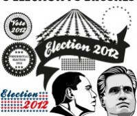 Presidential Elections 2012 Photoshop Brushes