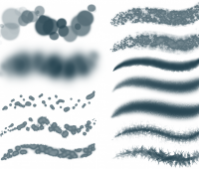 PS brushes set 1