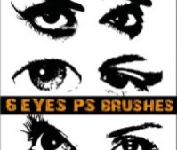 Eye Photoshop Brushes – 2500 pixels