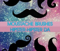 Brushes 001 Moustache