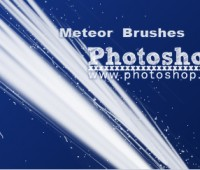 Meteor brushes