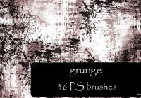 grunge brushes Photoshop.cc