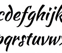 Fast brush script font – Free Download