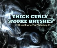 Thick Smoke Background Photoshop Brushes
