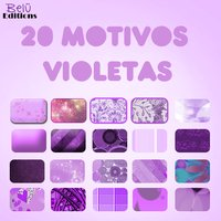 20 Motivos Violetas patterns