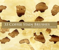 33 Coffee Stain Brushes