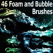 46 Foam and Bubble Brushes