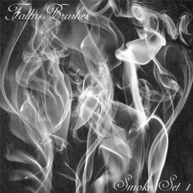 Smoke Brushes Set 1  for photoshop