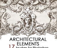 Architectual ornaments brushes 2013 – 2014