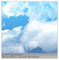 clouds new brushes from deviantart , fbrushes , qbrushes ,brushking