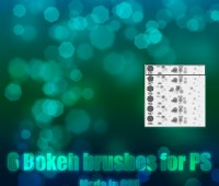 download  photoshop bokeh lights brushes