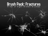 Broken Glass Brushes – Eight photoshop