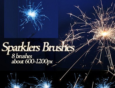 Brushes: Sparklers