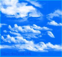 Cloud Brush Set for photoshop