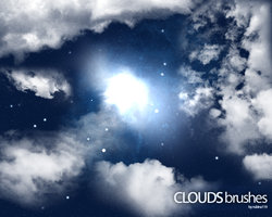 Clouds Brushes free photoshop download
