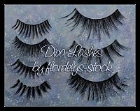 Diva Lashes photoshop brushes
