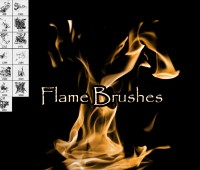 Flame Brushes fire
