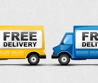Free Delivery Icons PSD