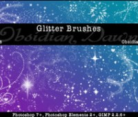 Glitter + Sparkles Brushes