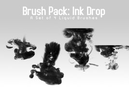 Ink Drop – 4 Brushes
