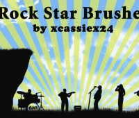 Rock Star Brushes , music