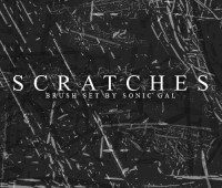 Scratches Brush Set cs3
