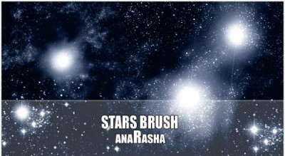 Stars brush