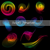 Swirls brushes
