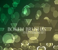 bokeh free brushes