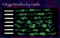 Custom Foliage brushes