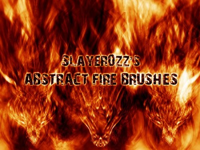 Abstract Fire Brushes
