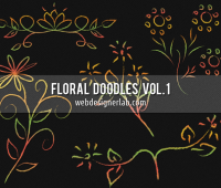Floral Doodles Brushes v1