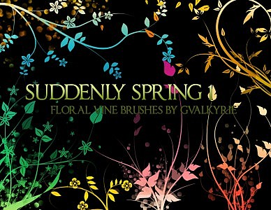 gvl – Suddenly Spring brushes