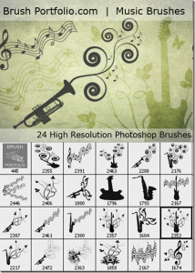 music free brushes