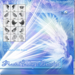 Fractal Wings brushes