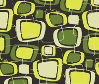 Free Vector Seamless Patterns – Retro Set 4