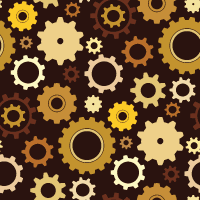 Free Vector Repeat Patterns – Gears and Cogs