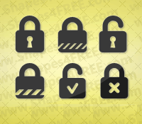 Photoshop Lock Shapes