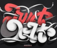 Typography Artworks by by Marcelo Schultz