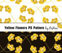 yellow_flowers_ps_pattern_by_analeewon-d5pb9u1