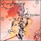 Spring Brushes PS