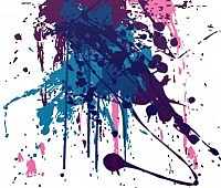 Splatter Photoshop Brushes Set 2013,2014,cs7