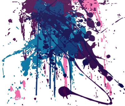 Paint Splash Brushes For Photoshop Cs