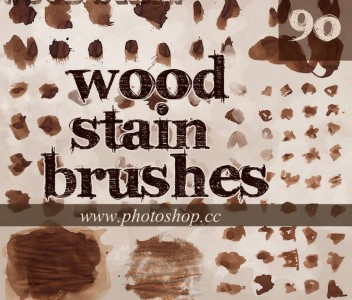 New  Wood Stain brushes splatters 2014,2015