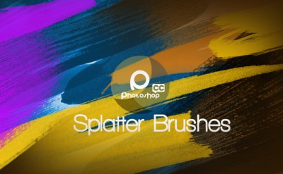 Free Brushes Splatter for free