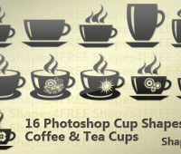 16 Photoshop Cup Shapes – Coffee and Tea Cups