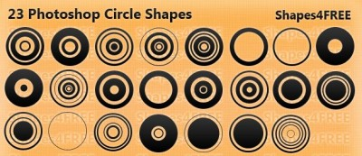 23 Photoshop Circle Shapes – Designer Essentials